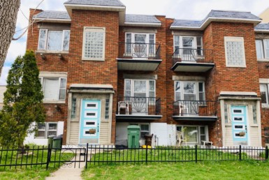 Large Nice Clean 4 ½ 3 Bedrooms apartment in Ville-Emard/Monk available for 1st JULY  alouer.ca